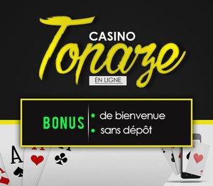 Bonus de casino Topaze
